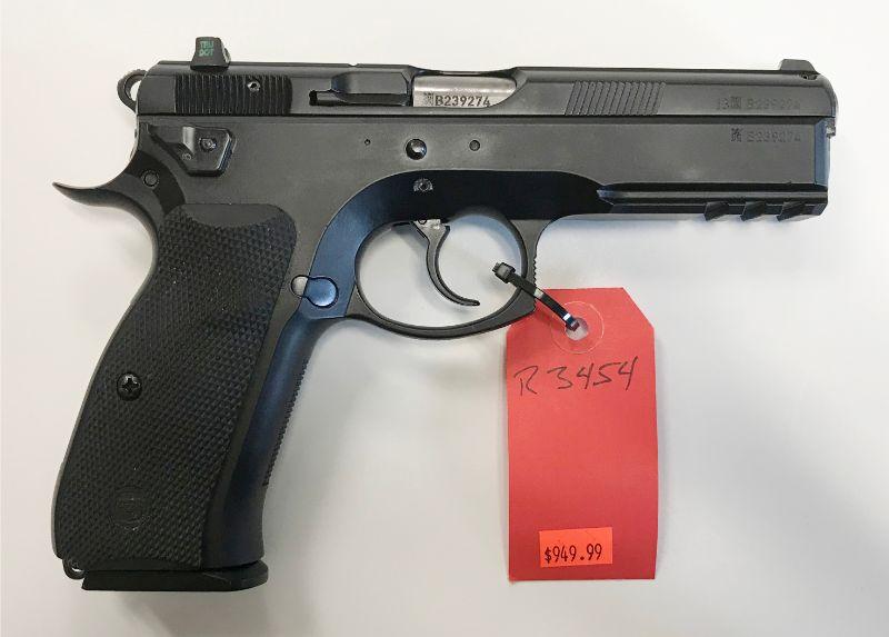 CZ Mod 75 SP-01 Tactical 9mm